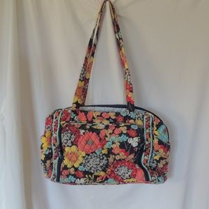 Vera Bradley Happy Snails Diaper Bag changing pad